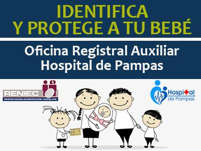 ORA - RENIEC HOSPITAL DE PAMPAS
